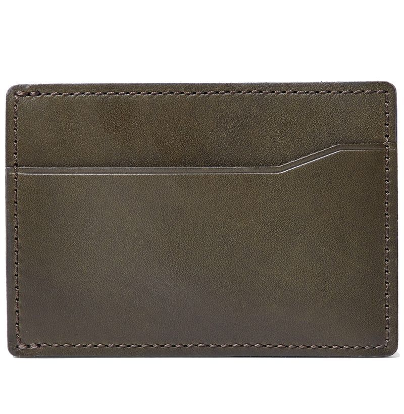 Wallets Men's Accessories Mens Real Genuine Leather RFID Blocking Zipper Bifold Card Holder Wallet CHIC US