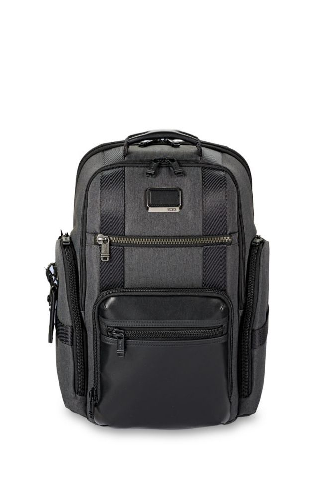 Textured Two-Tone Backpack
