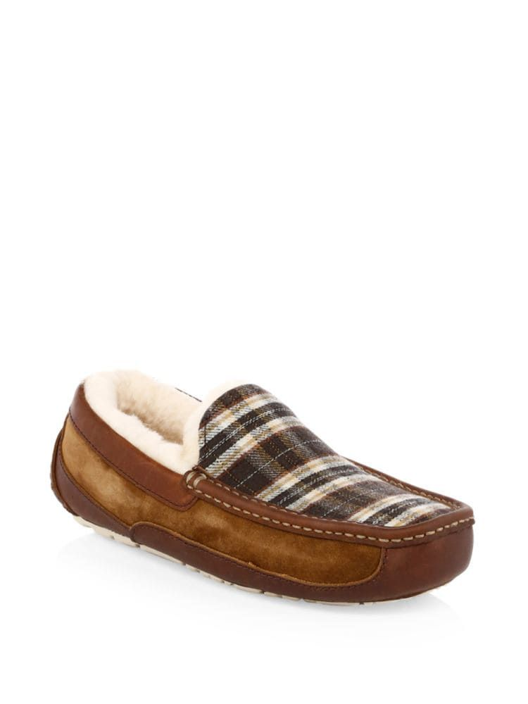 Ascot Plaid Slippers