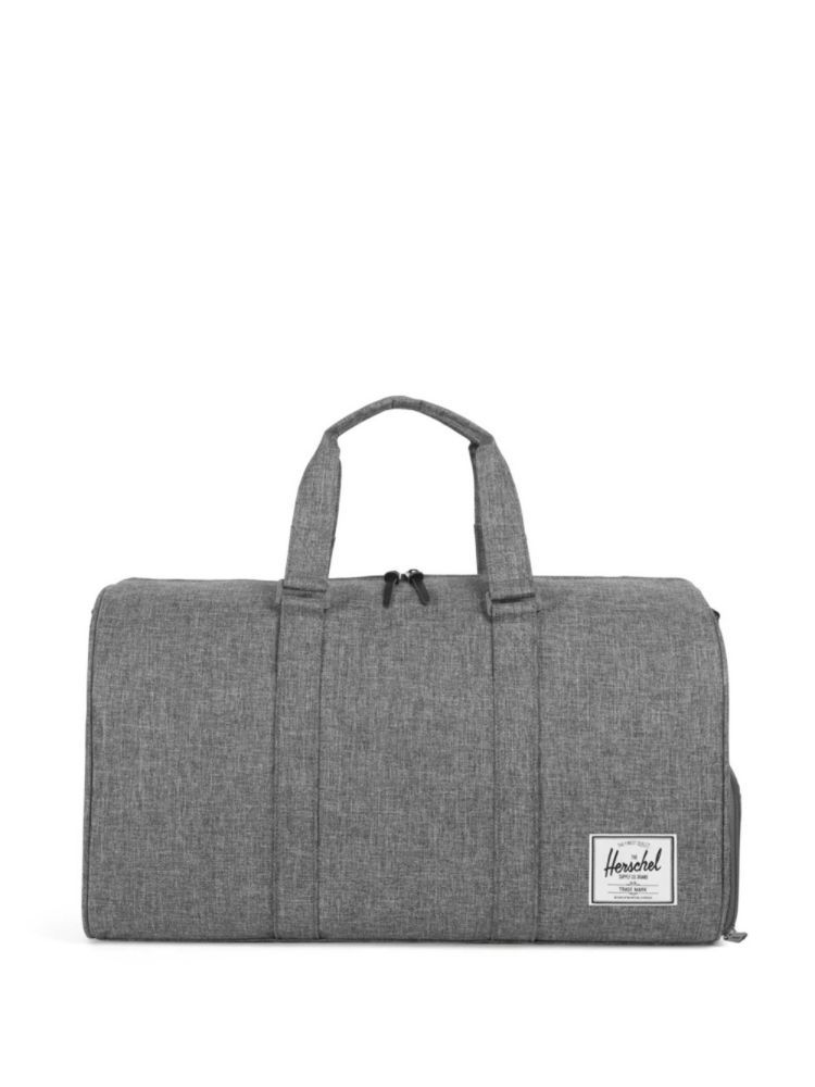 Classic Novel Cross Hatch Duffel Bag