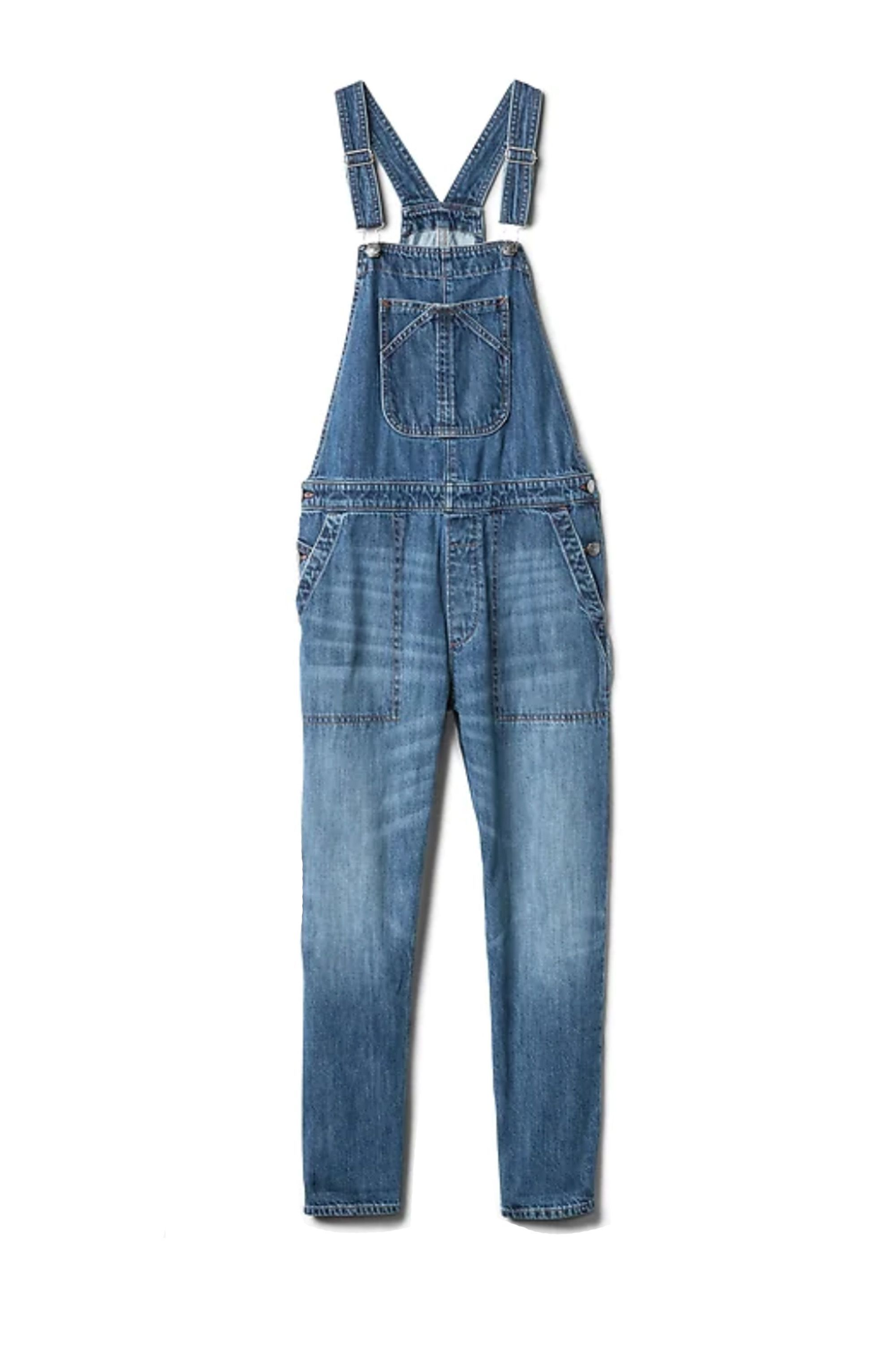 d8bf228f6d2 The Best Denim Jumpsuits of 2018 - 15 Ways to Make The Denim Jumpsuit Work  for You