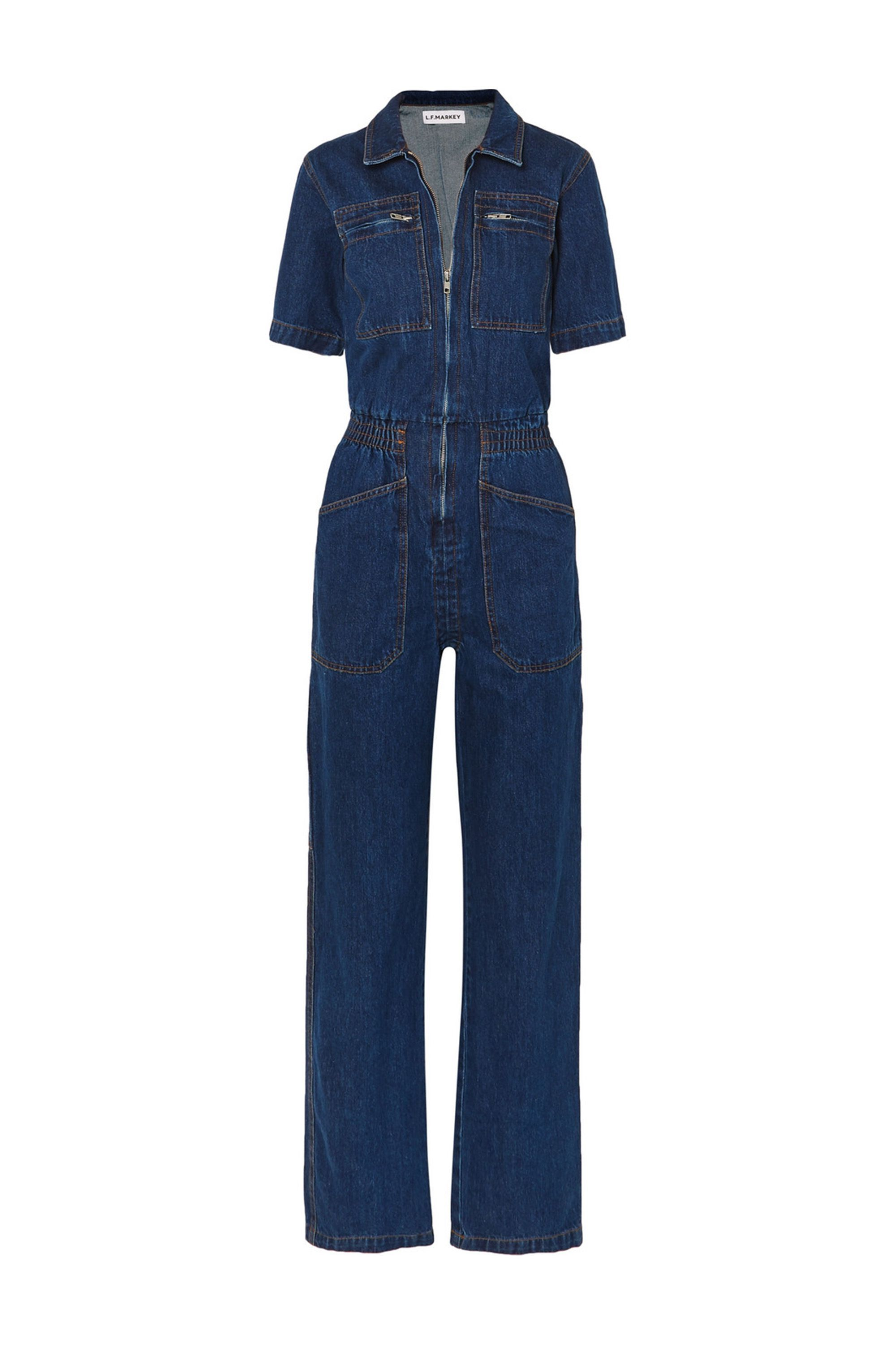 13da515822e8 The Best Denim Jumpsuits of 2018 - 15 Ways to Make The Denim Jumpsuit Work  for You