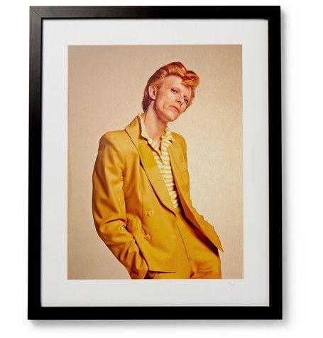 1974 David Bowie Print