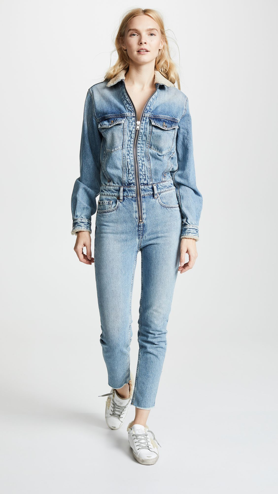 47e2fe50a20 Kylie Jenner s IRO Denim Jumpsuit Sent Me Into a Frantic Search for ...