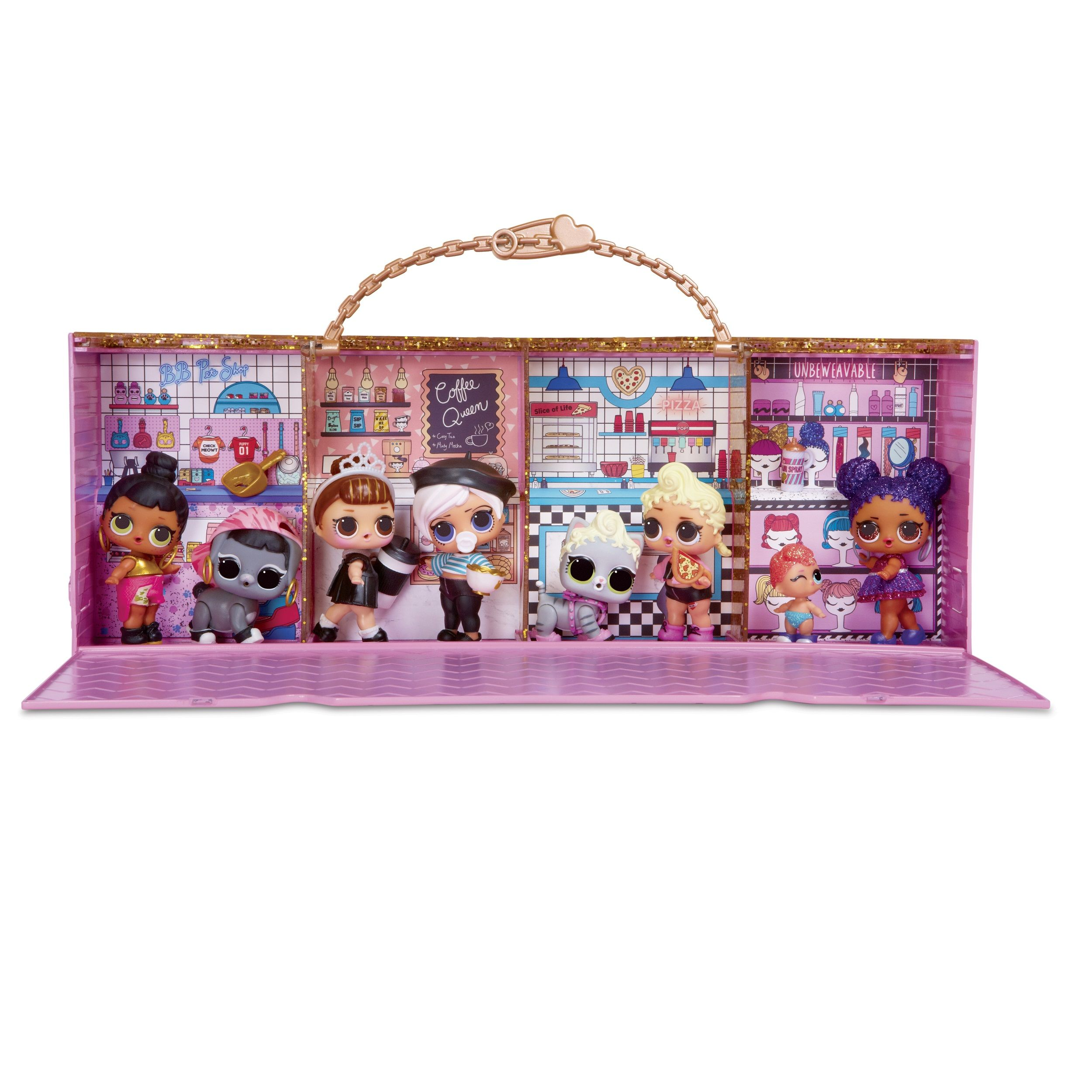 Where You Can Buy L O L Surprise Hair Goal Dolls House And Store