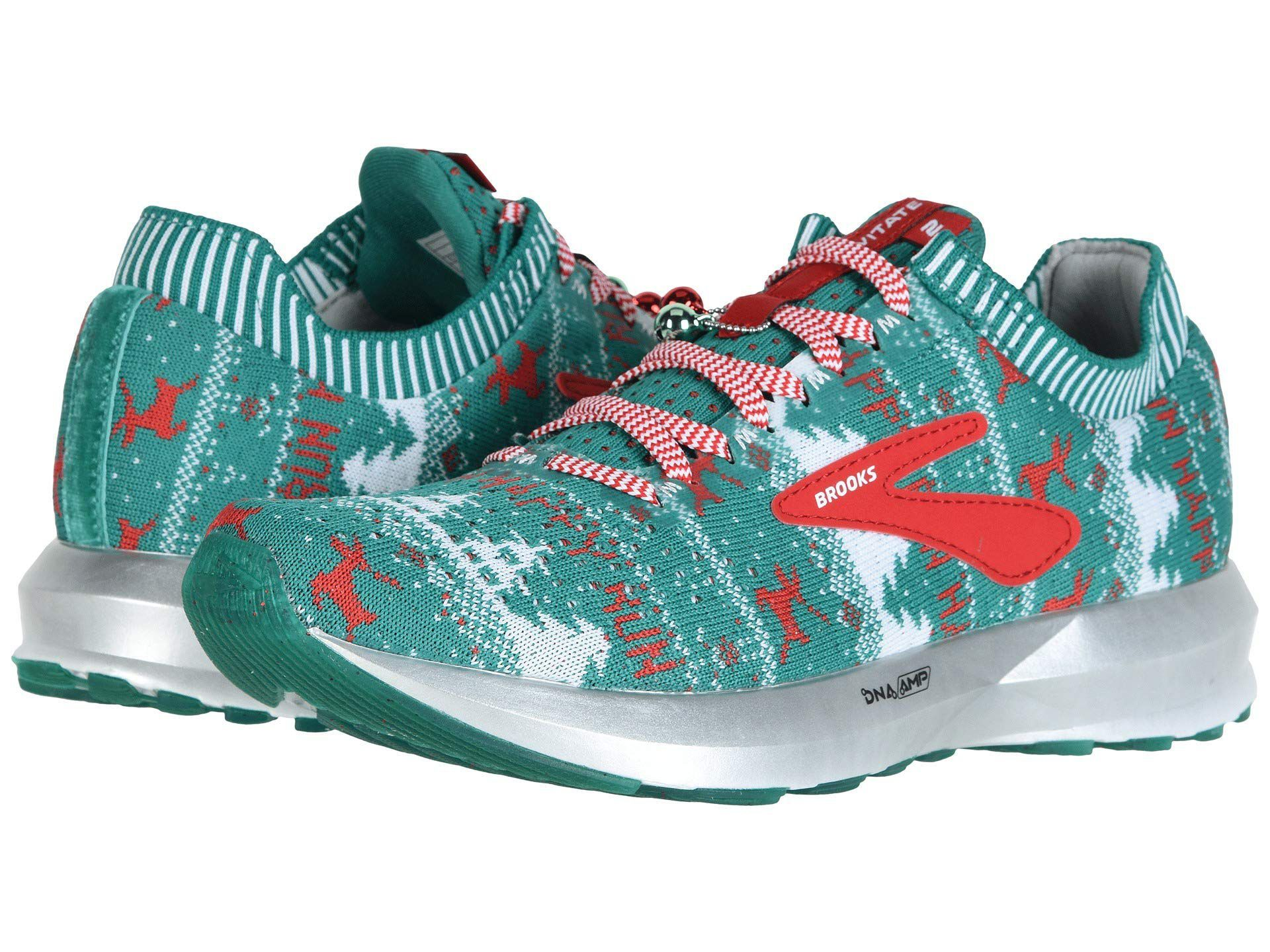 Christmas Running Top.Brooks Christmas Shoes Are Like An Ugly Sweater For Your Feet