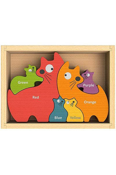 BeginAgain Cat Family Puzzle
