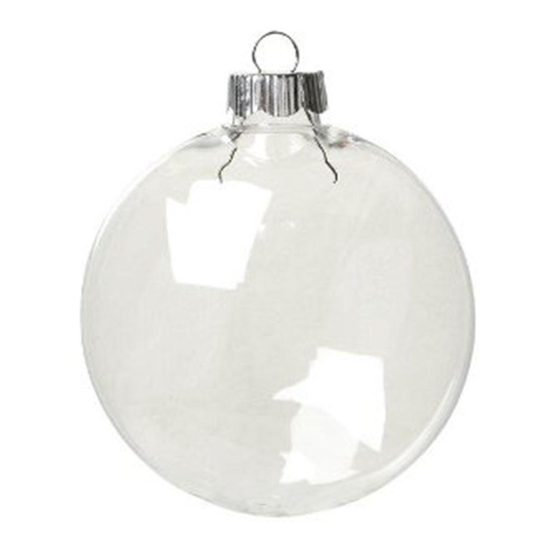 12 Pack Of Plastic Disc Ornaments