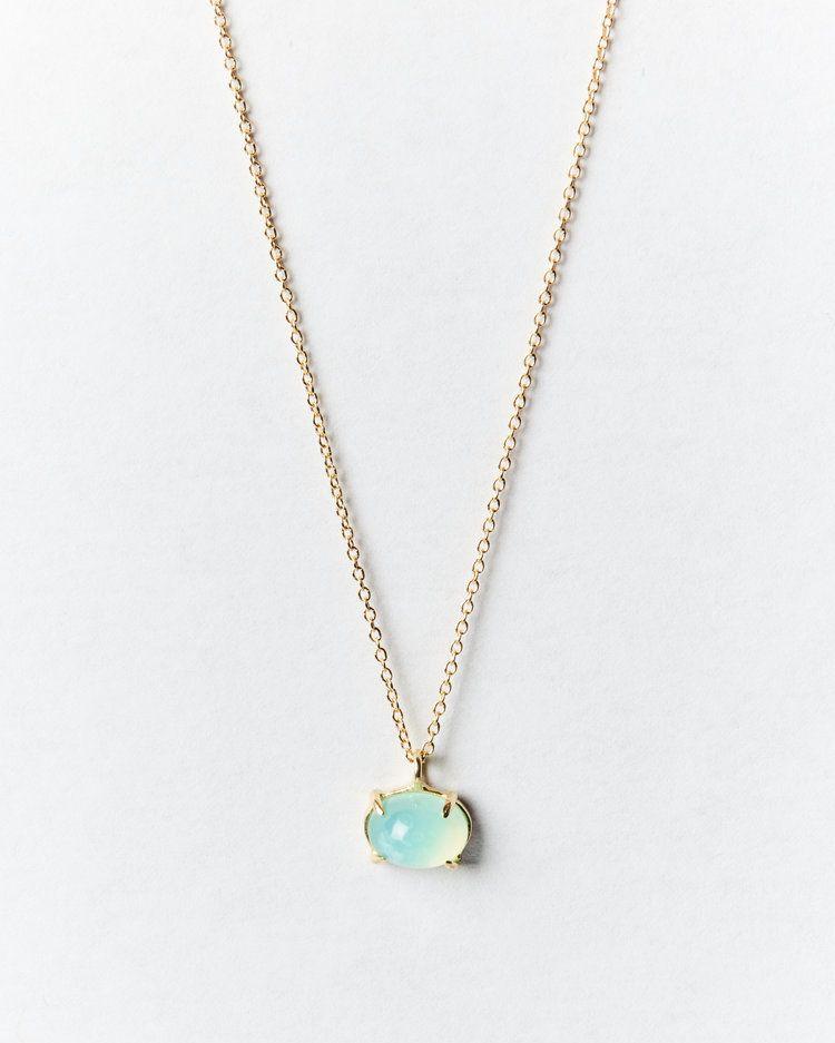 Peruvian Blue Opal Necklace