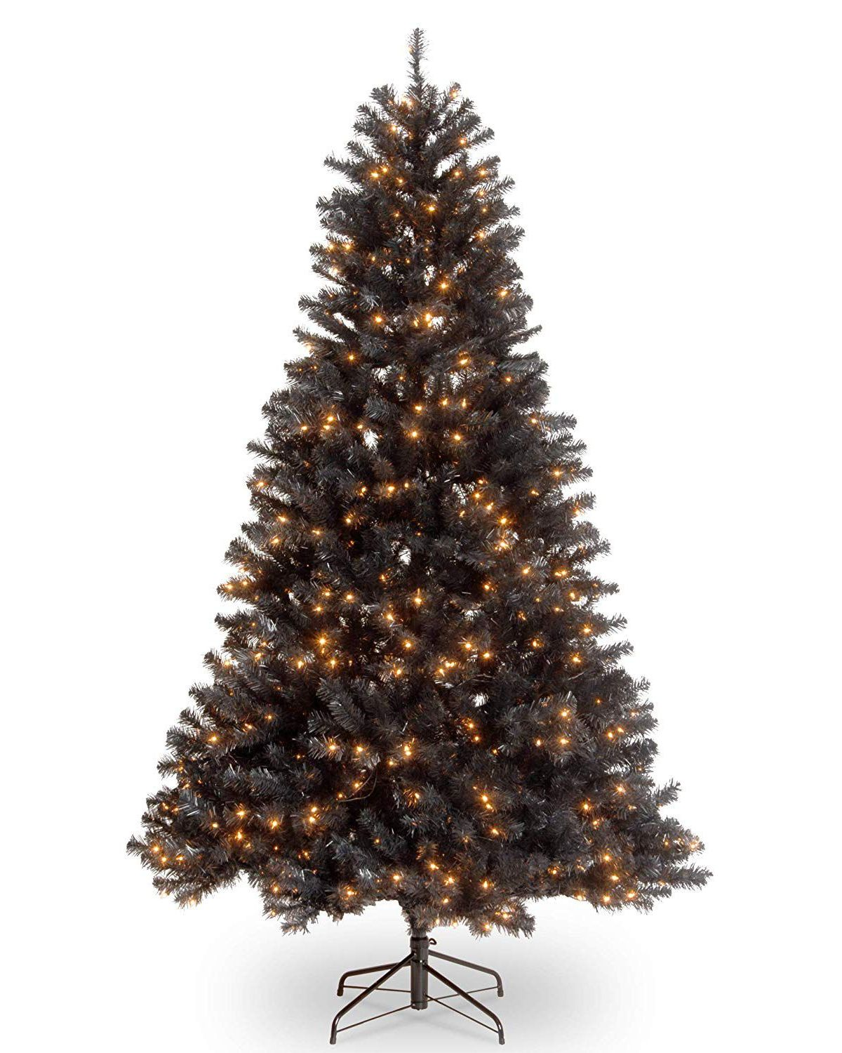 Black Christmas Trees Are The Latest Holiday Decor Trend