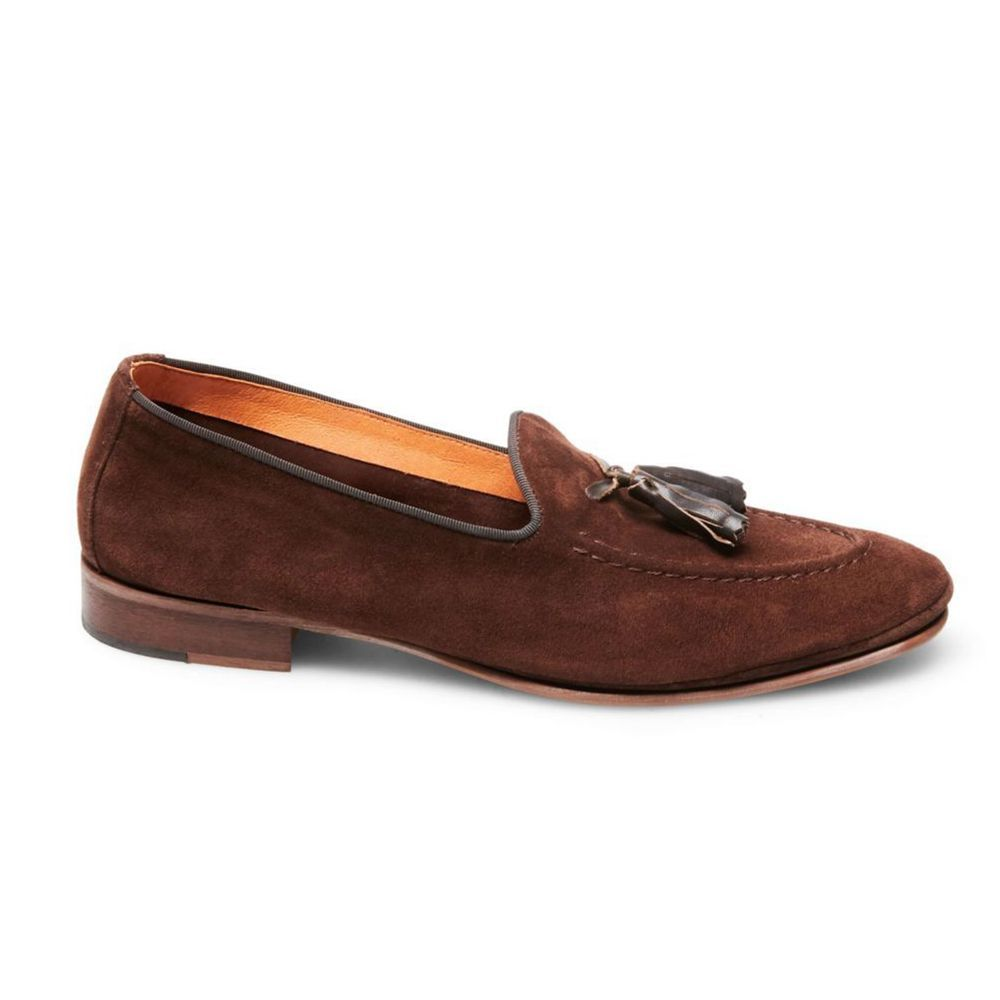3c99f0e9f1a3a Steve Madden Men's Arvin Brown Suede Shoes