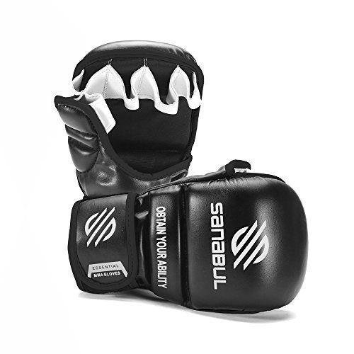 Sanabul Essential MMA Hybrid Sparring Gloves