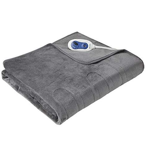 1 Beautyrest Heated Electric Throw With Foot Pocket