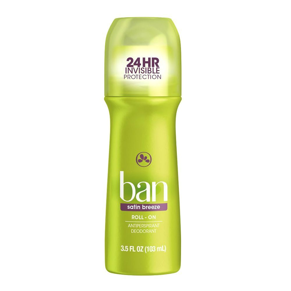 Ban Roll-On Antiperspirant Deodorant
