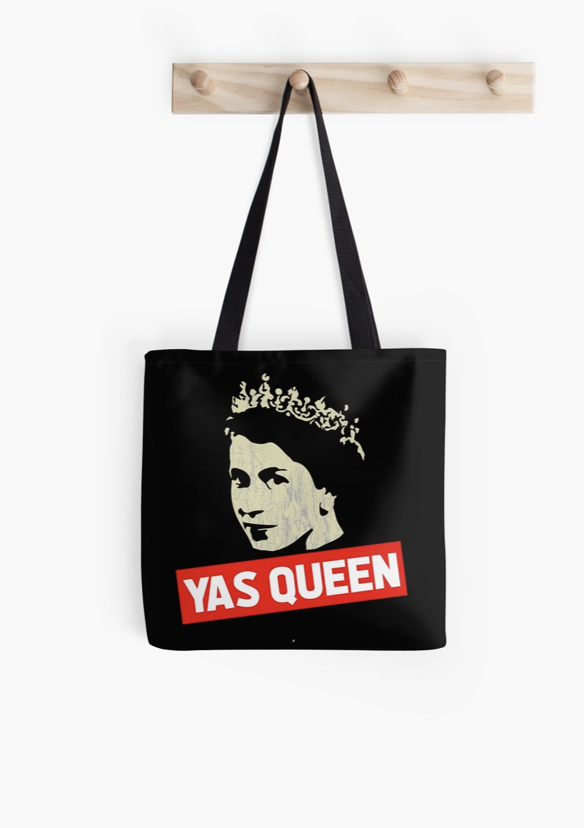 """""""Yas Queen"""" Tote"""