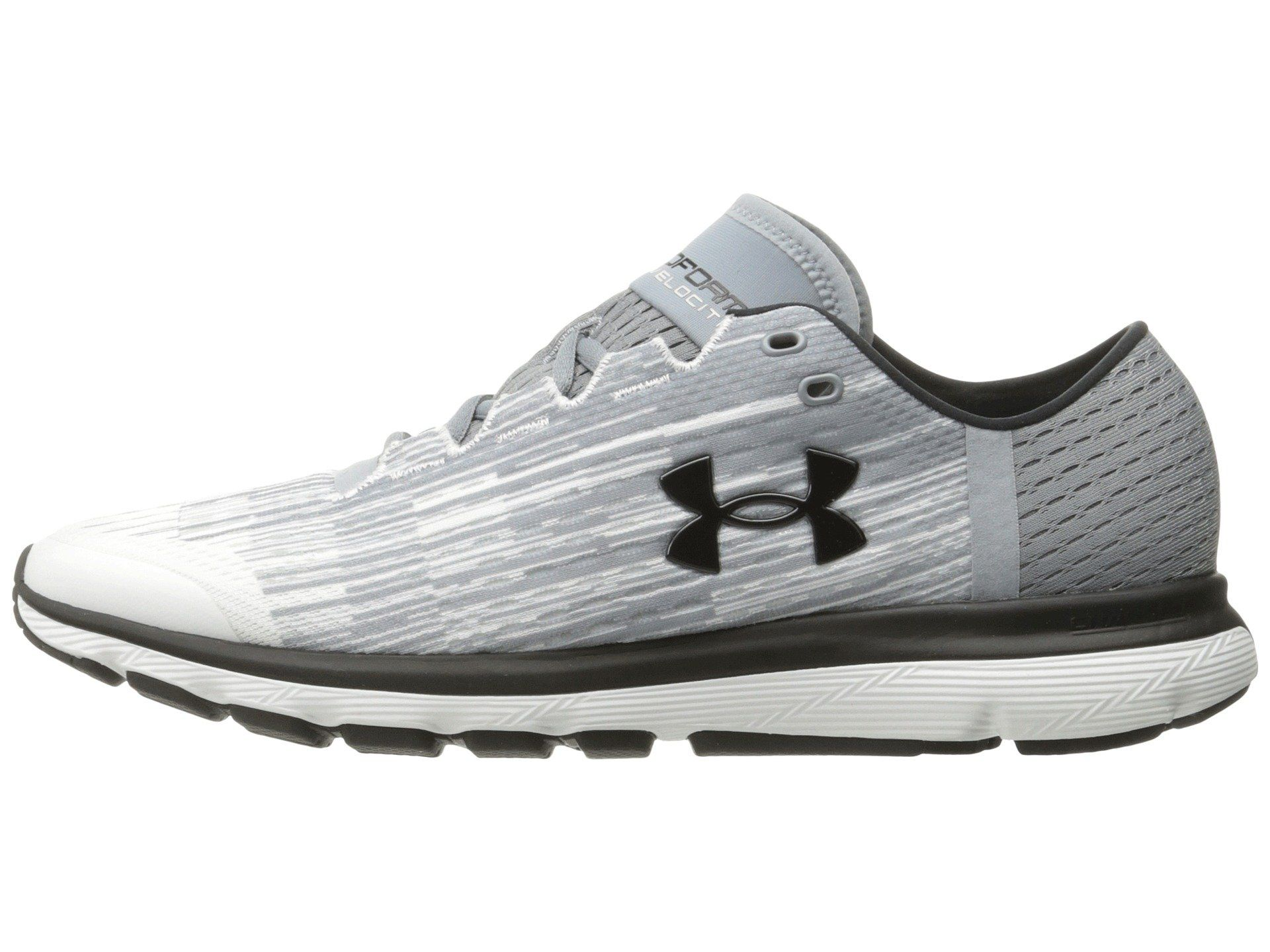 Fitness, Running & Yoga Humor Under Armour Charged Bandit Mens Running Shoes Grey Blue Cushioned Trainers Men Sporting Goods