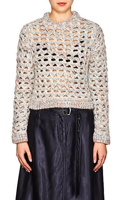 cc0116f02fb321 8 of 33. Missoni Open-Knit Alpaca-Blend Crewneck Sweater