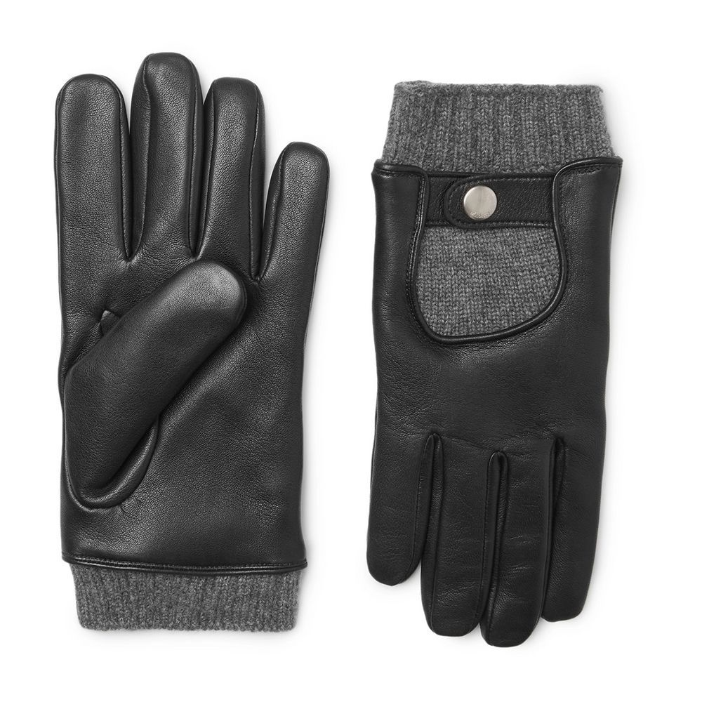 Mulberry Mulberry Leather And Mulberry Leather Gloves Cashmere Cashmere Gloves And Y76gbfy