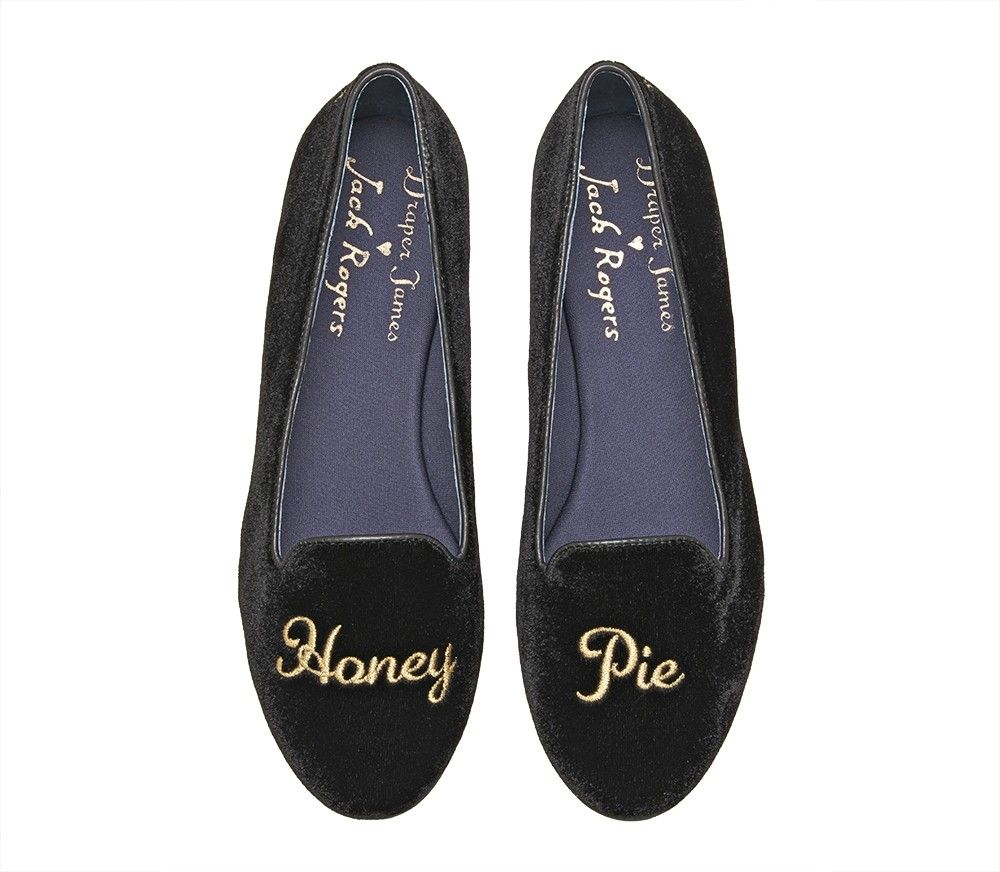 Jack Rogers x Draper James Honey Pie Flat