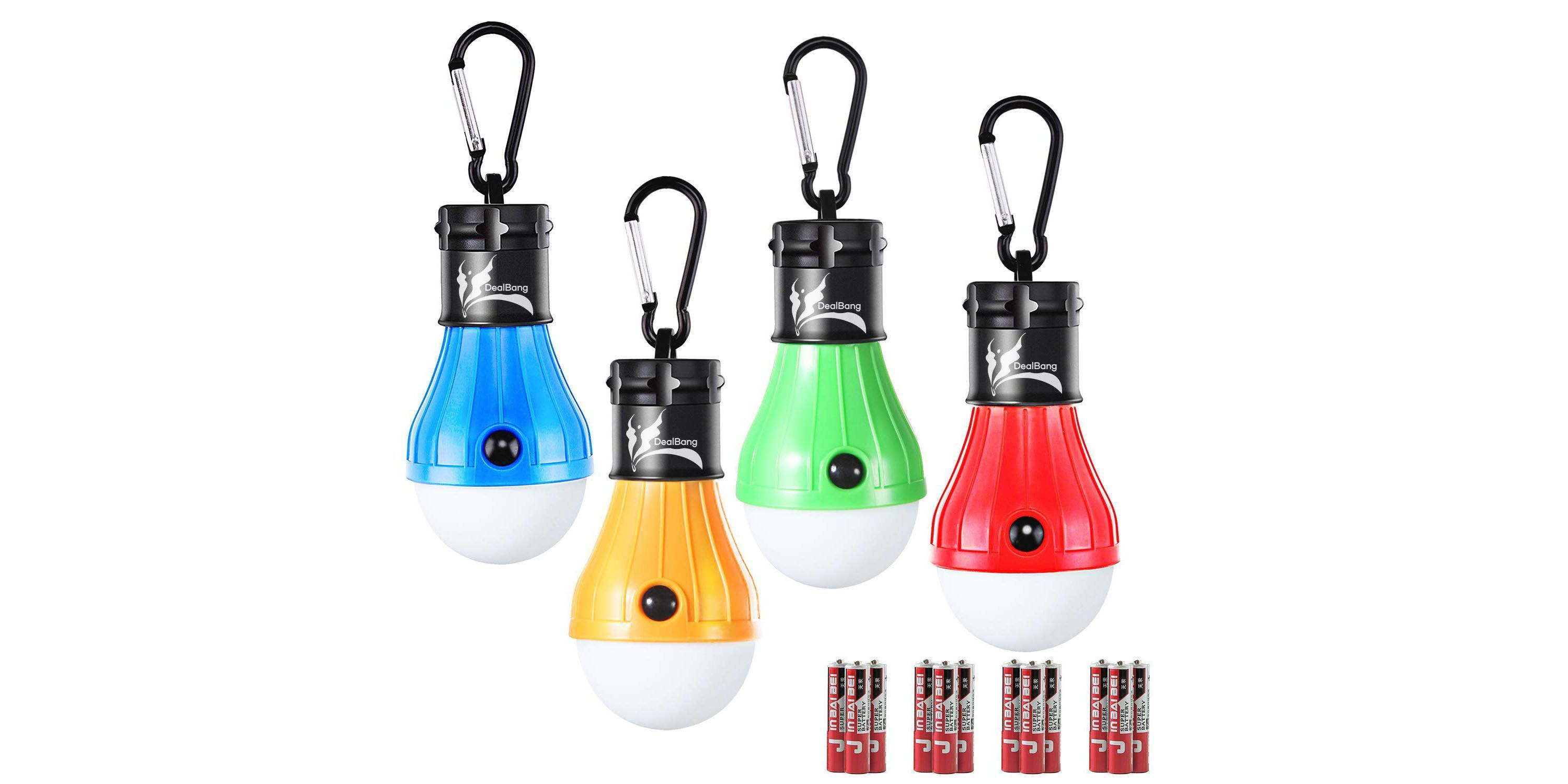 best service 2250a 3183c Battery-Operated Hanging Tent Lightbulb