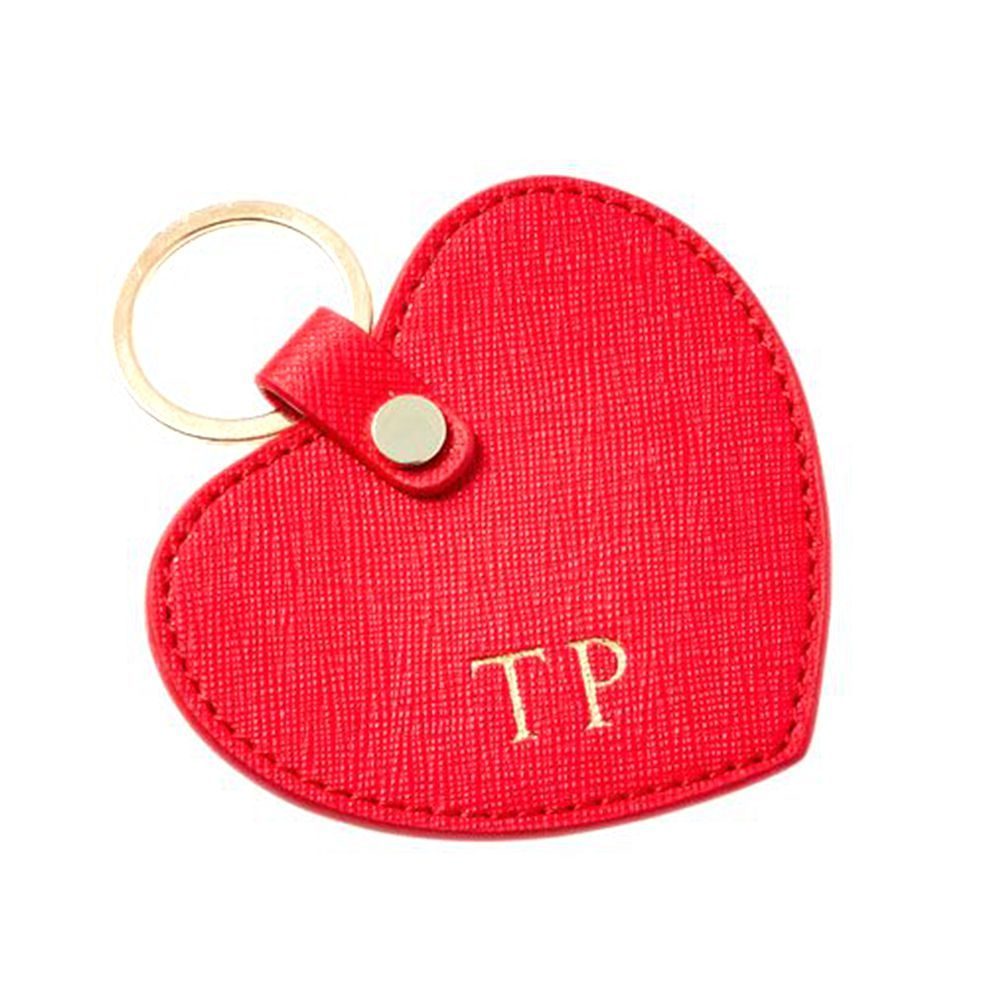 The Daily Edited Large Heart Keyring