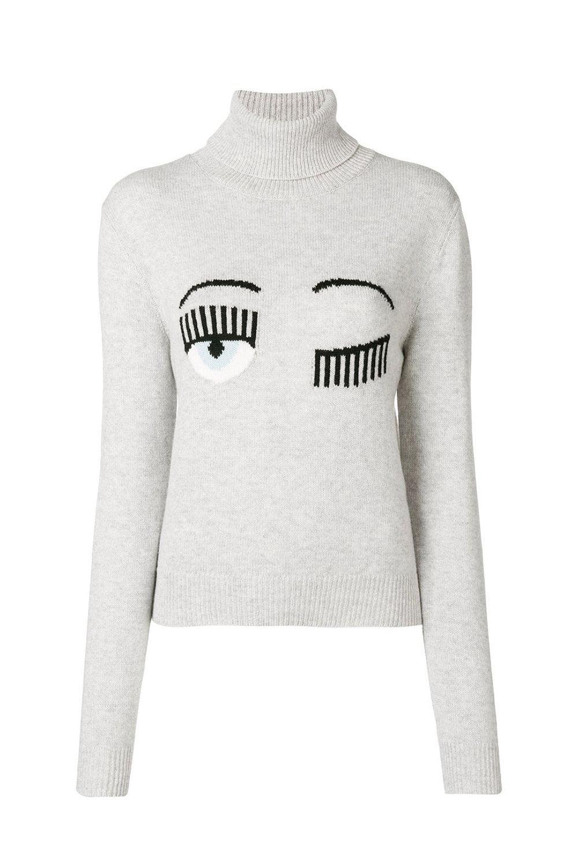 fashion bloggers with clothing lines fashion influencers who runchiara ferragni eye logo jumper farfetch com