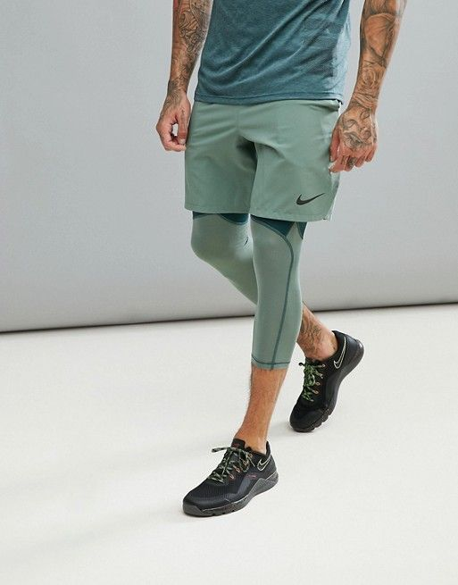 Devoted Reebok Speed Mens Training Shorts Green Keep You Fit All The Time Clothing, Shoes & Accessories