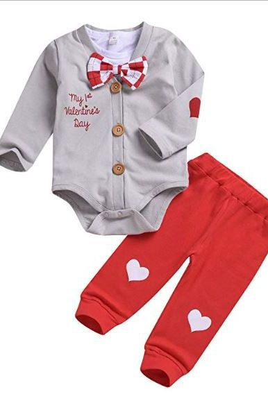 e5847a553 Baby Valentine s Day Outfits 2019 - Infant and Newborn Clothes for V-Day