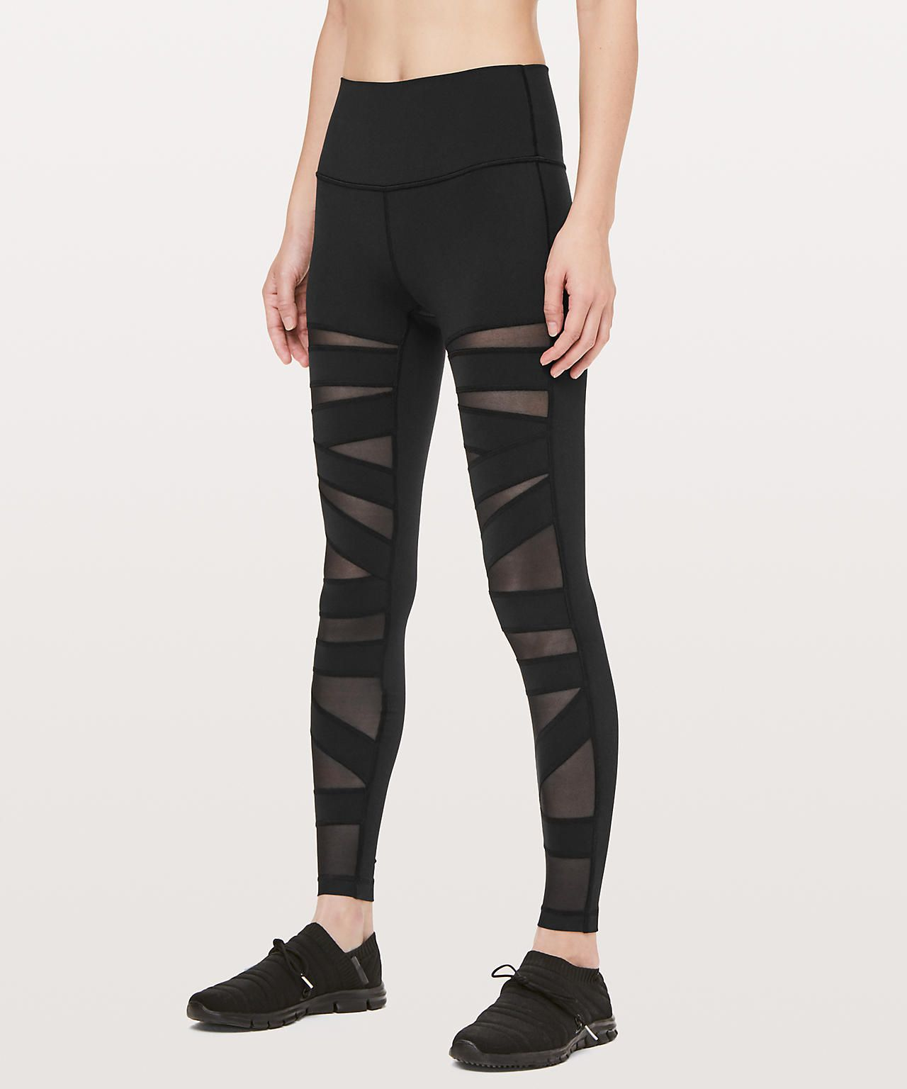 046df9eaf33c87 18 Best Mesh Leggings to Workout In 2019 - Stylish Mesh Tights