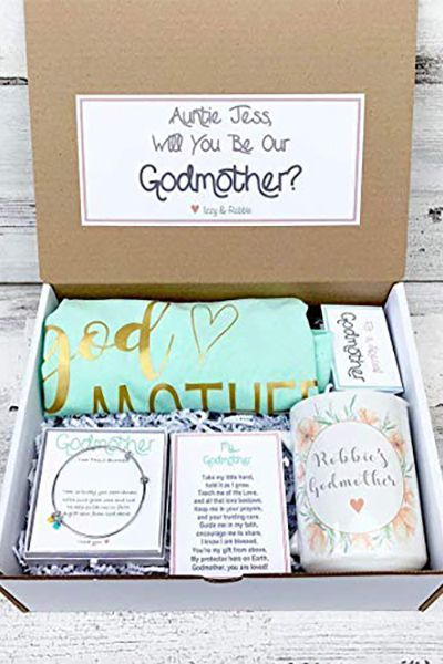 Will You Be a Godparent Proposal Ideas - Creative Proposals for