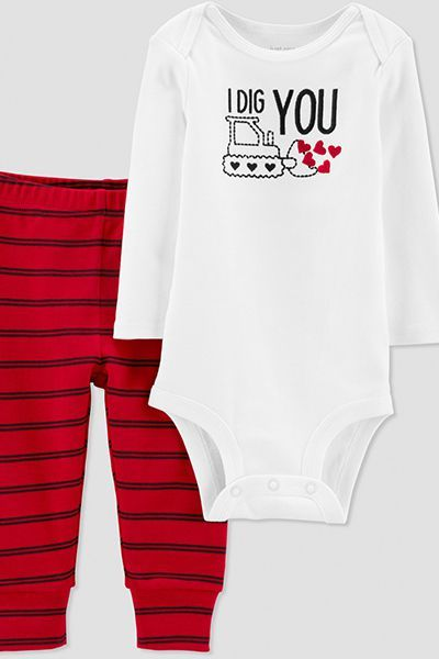 a2e66ba71 Baby Valentine's Day Outfits 2019 - Infant and Newborn Clothes for V-Day