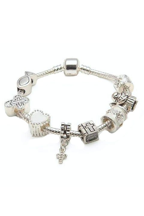 Courtesy Of Liberty Charms First Communion Charm Bracelet