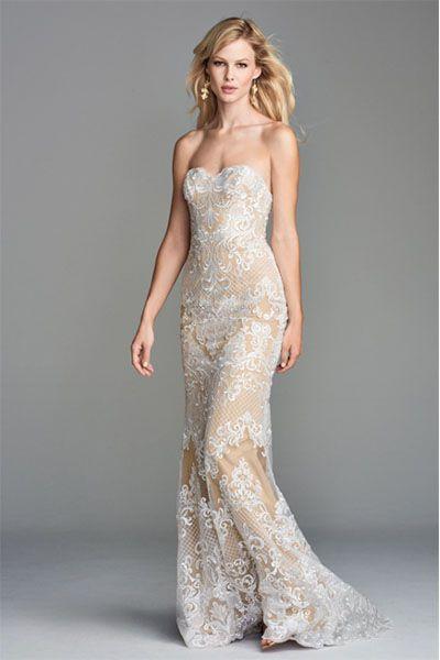 14 Best Gold Wedding Dresses 2020 Sparkly Champagne