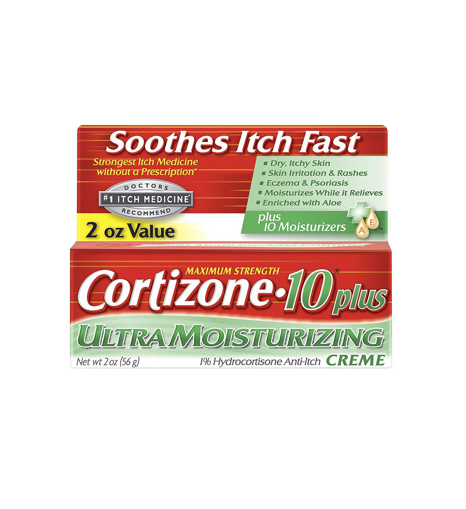 Cortizone-10 Plus Ultra Moisturizing Hydrocortisone Anti-Itch Creme