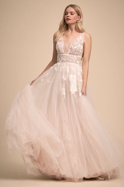 aa89be12ed68 15 Pretty Pink Wedding Dresses 2019 - Blush and Pink Wedding Gowns