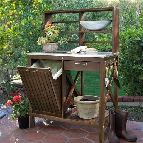 Groovy 20 Best Potting Benches Garden Work Benches With Storage Interior Design Ideas Grebswwsoteloinfo