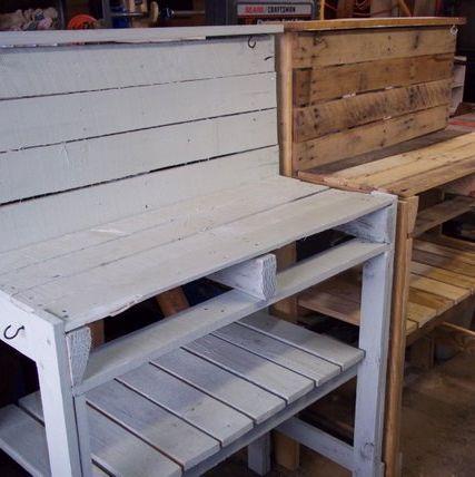 Surprising 20 Best Potting Benches Garden Work Benches With Storage Ibusinesslaw Wood Chair Design Ideas Ibusinesslaworg