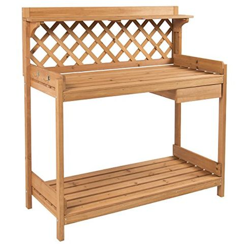 Fine 20 Best Potting Benches Garden Work Benches With Storage Onthecornerstone Fun Painted Chair Ideas Images Onthecornerstoneorg