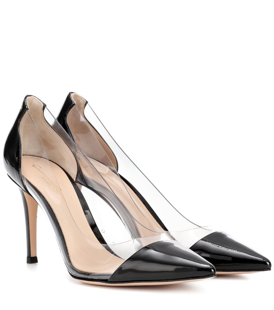 5c73f3c59 Meghan Markle's Gianvito Rossi Cow-Print PVC Heels Are Giving Me Life
