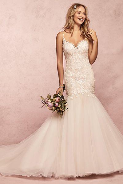 d5368dedf5c94 15 Pretty Pink Wedding Dresses 2019 - Blush and Pink Wedding Gowns