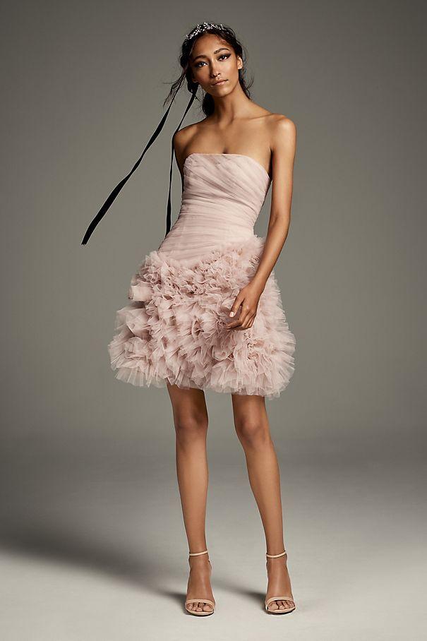 b4b111173cc6 15 Pretty Pink Wedding Dresses 2019 - Blush and Pink Wedding Gowns