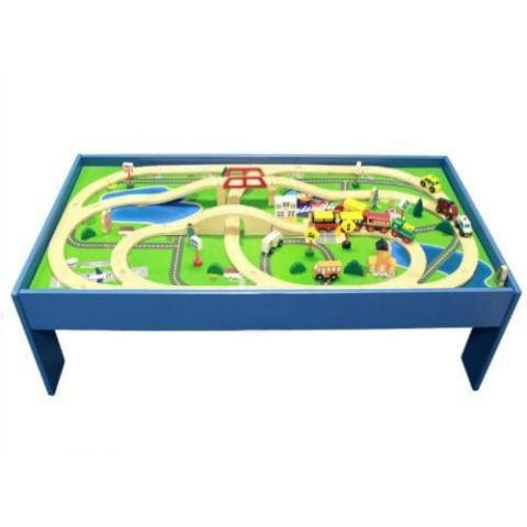 Magnificent Conductor Carl Train Table And Play Board Set Interior Design Ideas Apansoteloinfo