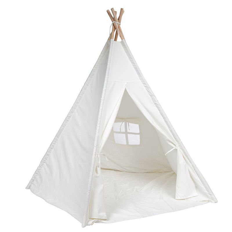 3 Trademark Innovations Giant Customizable 6-Foot Teepee  sc 1 st  BestProducts.com & 9 Best Kids Teepee Tents of 2018 - Totally Cool Play Teepees for Kids