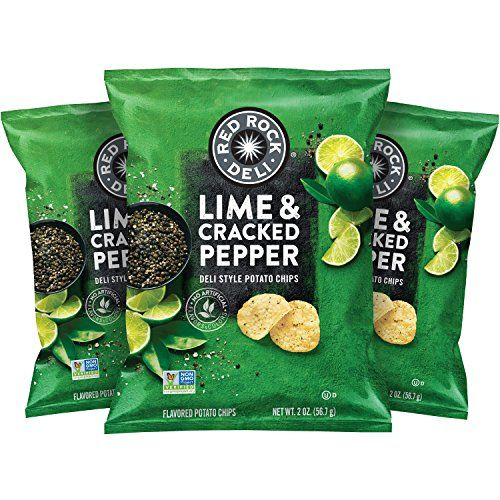 Red Rock Deli Lime & Cracked Pepper Potato Chips