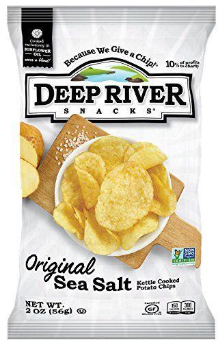 Deep River Snacks Original Sea Salt Kettle Cooked Potato Chips