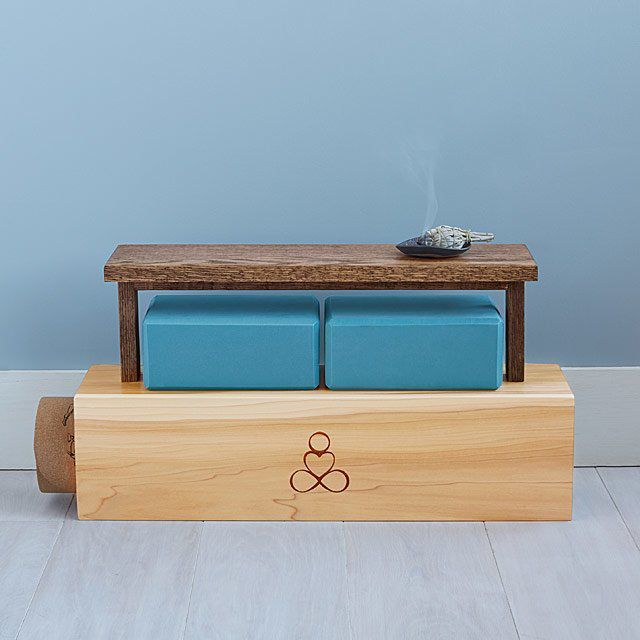 UncommonGoods Yoga Mat Storage And Display Shelf Review