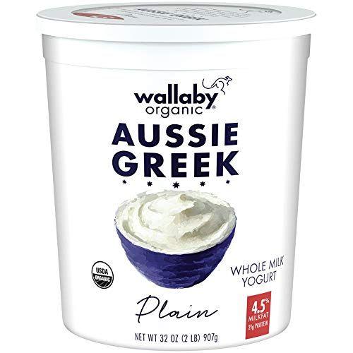 Whole Milk Greek Yogurt, Plain