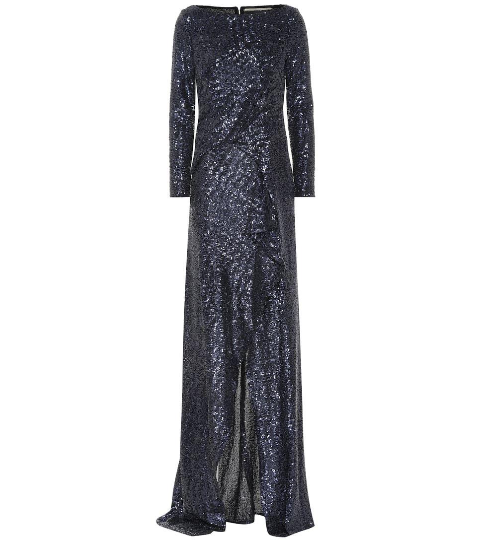 15a8735d Meghan Markle Wears Sequined Roland Mouret Dress to Cirque du Soleil ...