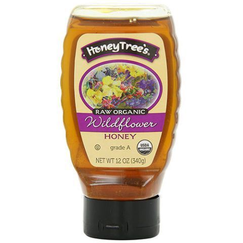 HoneyTree's Raw Organic Wildflower Honey