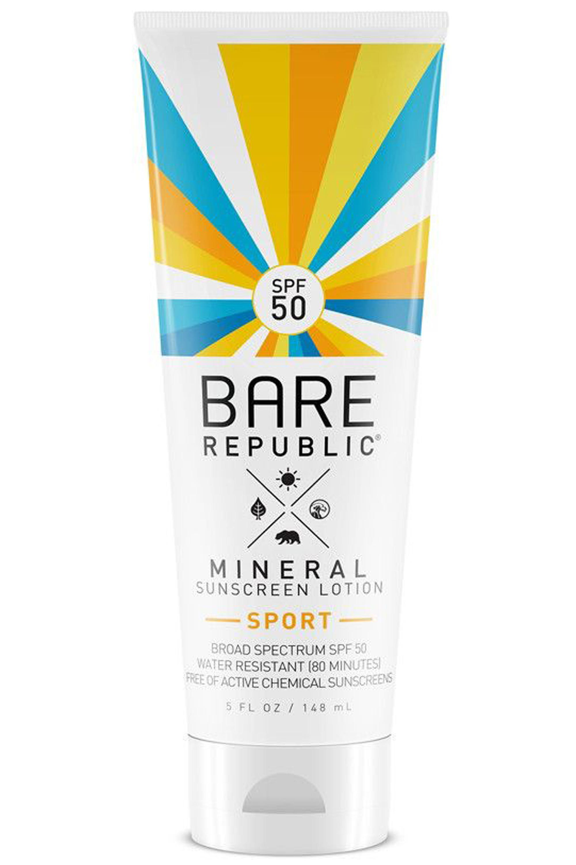 Bare Republic Mineral Sport Lotion SPF 50